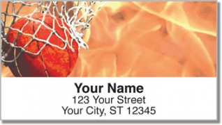 Click on Shooting Hoops Address Labels For More Details