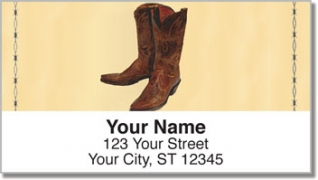 Click on Classic Cowboy Address Labels For More Details