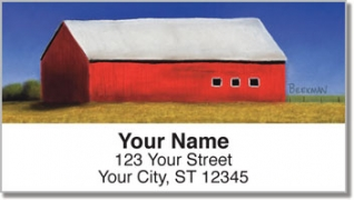Click on Barns Close Up Address Labels For More Details