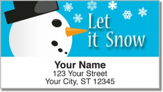 Click on Snowman Address Labels For More Details