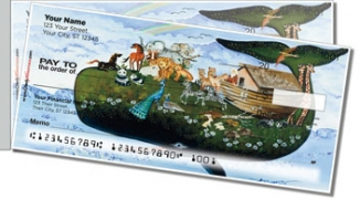 Click on Floral Whale Side Tear Personal Checks For More Details