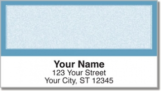Click on Blue Sponge Pattern Address Labels For More Details
