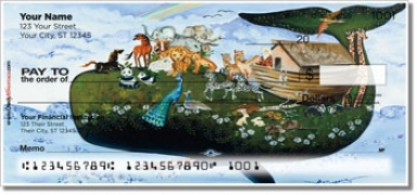 Click on Floral Whale Personal Checks For More Details