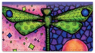 Click on Dragonfly Art Checkbook Cover For More Details