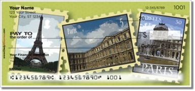Click on Dreaming of Paris Personal Checks For More Details