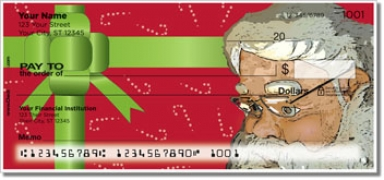 Click on Father Christmas Personal Checks For More Details