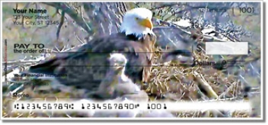 Click on Nesting Eagle Personal Checks For More Details