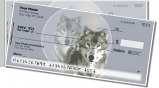 Click on Gray Wolf Side Tear Personal Checks For More Details