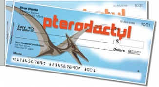 Click on Dinosaur Species Side Tear Personal Checks For More Details