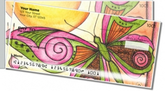 Click on Whimsical Wings Side Tear Personal Checks For More Details