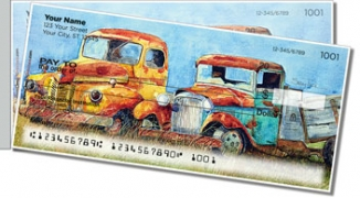 Click on Rusty Truck Side Tear Personal Checks For More Details