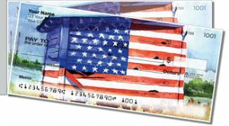 Click on Americana Painting Side Tear Personal Checks For More Details