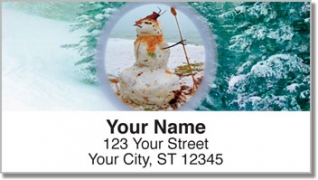 Click on Silly Snowman Address Labels For More Details