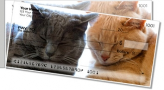 Click on Pet Cat Side Tear Personal Checks For More Details