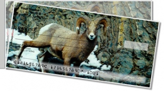 Click on Big Horn Sheep Side Tear Personal Checks For More Details