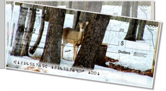 Click on Deer Side Tear Personal Checks For More Details