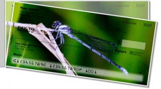 Click on Dragonfly Side Tear Personal Checks For More Details