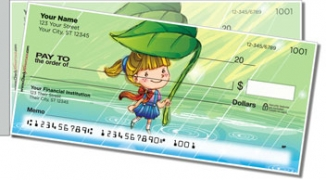 Click on Cute Kiddo Side Tear Personal Checks For More Details