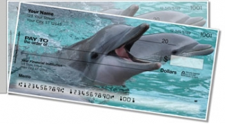 Click on Dolphin Side Tear Personal Checks For More Details