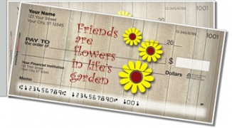 Click on Friends Are... Side Tear Personal Checks For More Details