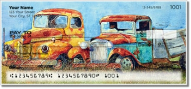 Click on Rusty Truck Personal Checks For More Details