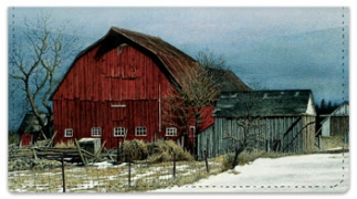 Click on Winter Farm Checkbook Cover For More Details