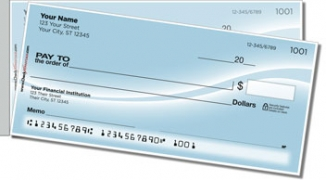 Click on Blue Swoosh Side Tear Personal Checks For More Details
