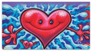 Click on Happy Smiles Checkbook Cover For More Details
