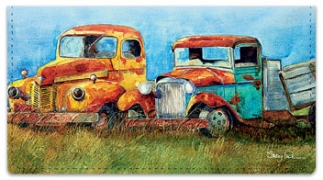 Click on Rusty Truck Checkbook Cover For More Details