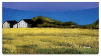 Click on Blue Sky Barn Checkbook Cover For More Details