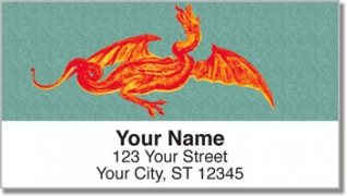 Click on Ancient Dragon Address Labels For More Details