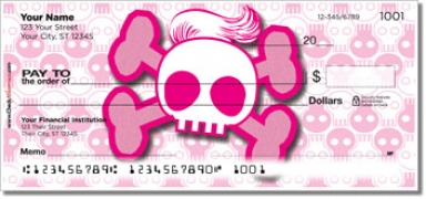 Click on Stylish Skull Personal Checks For More Details