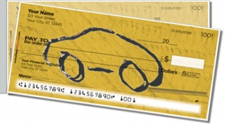 Click on Car Sketch Side Tear Personal Checks For More Details