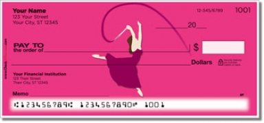 Click on Ribbon Dancing Personal Checks For More Details