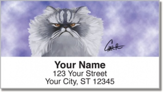 Click on Persian Cat Address Labels For More Details