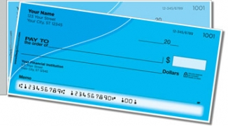 Click on Blue Curve Side Tear Personal Checks For More Details