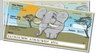 Click on Jungle Buddy Side Tear Personal Checks For More Details