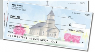 Click on House of Prayer Side Tear Personal Checks For More Details