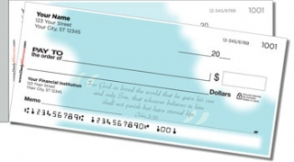 Click on Heavenly Scripture Side Tear Personal Checks For More Details
