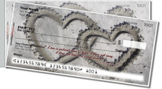 Click on Love Is Side Tear Personal Checks For More Details