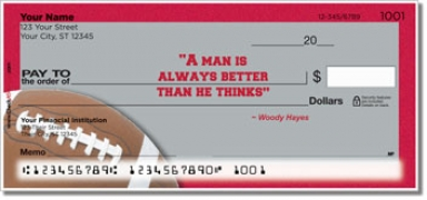 Click on Woody Hayes Personal Checks For More Details