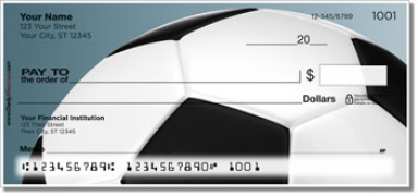 Click on Classic Soccer Ball Personal Checks For More Details