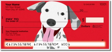 Click on Darling Dalmatian Personal Checks For More Details