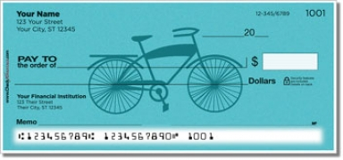 Click on Classic Bicycle Personal Checks For More Details