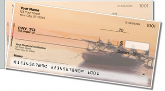 Click on Aviation Art Side Tear Personal Checks For More Details