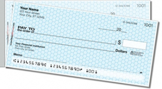 Click on Blue Honeycomb Side Tear Personal Checks For More Details