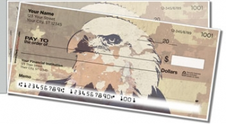 Click on Patriotic Eagle Side Tear Personal Checks For More Details