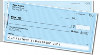 Click on Blue Safety Side Tear Personal Checks For More Details