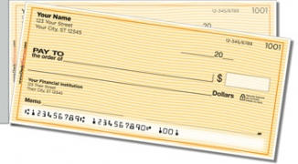 Click on Orange Safety Side Tear Personal Checks For More Details