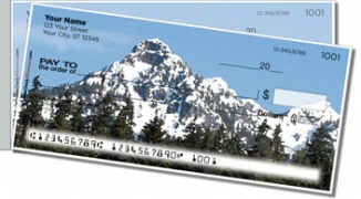 Click on Mountain Peak Side Tear Personal Checks For More Details